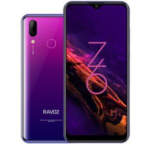 Ravoz Z6 64GB Purple Galaxy 4G Dual Sim Smartphone