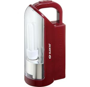 Elekta Rechargeable Emergency Lantern - Red, ERL 142