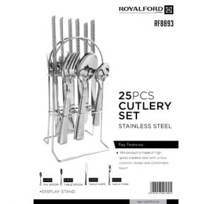 Royalford 25Pc SS Cutlery Set  - RF8893