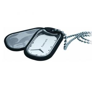 Fastrack 3012Sm01 Silver Dial Silver Strap Watch