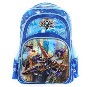 Para John 16 Inch School Bag, Blue- PJSB6027