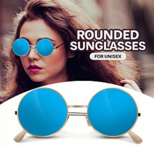 A&H Sunglasses Unisex Blue, AH2875