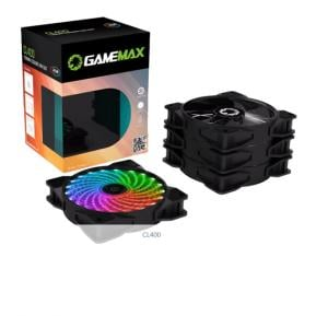 Gamemax CL400-RGB Cooling Fan Cooler Combo