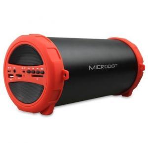 Microdigit Bluetooth Portable HD Sound Drum Speaker-M0052RT