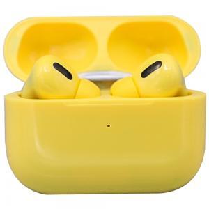 TWS Airpod Pro 3 Bluetooth Earphones Wireless Headset, Yellow