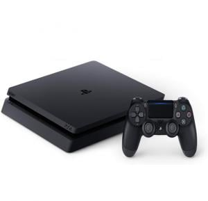 Sony PlayStation 4 1Tb slim Game Console standalone Jet Black-Tra Stocks - Ps4 1Tb Tra