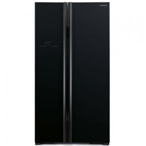 Hitachi Fridge Side By Side, 700LTR-RS700PK2 - Black