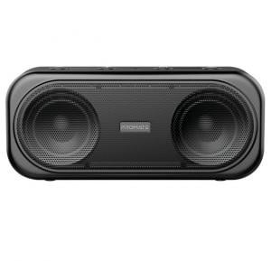 Promate True Wireless Speaker, Powerful 10W Wireless Bluetooth V5.0 Stereo Speaker with Built-In Mic, OTIC.BLACK