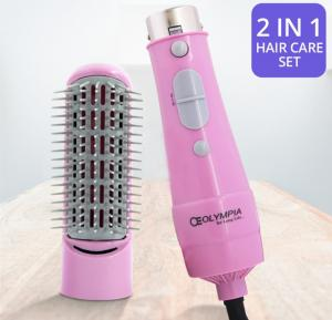 Olympia 2 in 1 Hair Care Set, OE-1612