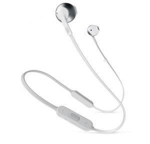 JBL Tune 205BT On Ear Bluetooth Headset, Silver