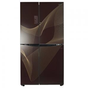 LG Side By Side Refrigerator 700 L GR-M257JGQV, Brown