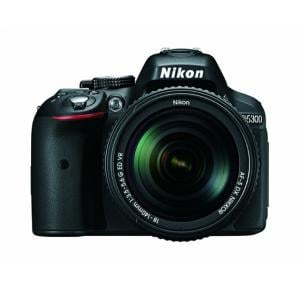 Nikon D5300 24.2MP Digital SLR Camera with AF-P 18-55mm f/ 3.5-5.6g VR Kit Lens