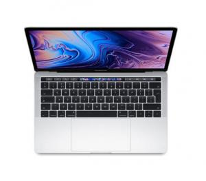 Apple MacBook Pro Silver i7 8th Gen. 2.6 6Core 16GB 512GB Radeon PRO 560X with 4GB TB & ID Retina Display with TT 15 Inch - English,MR972 LL/A