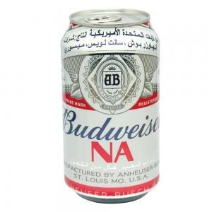 Budweiser Classic Flavour Non Alcoholic Malt Beverage 355ml Can 53001