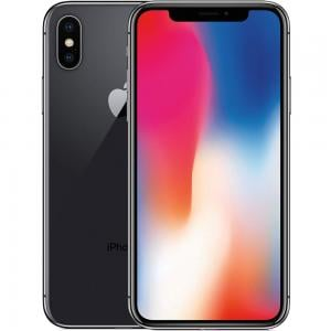 Apple iPhone X, 3GB RAM 256GB Storage, 4G LTE, Spacy Grey, Activated