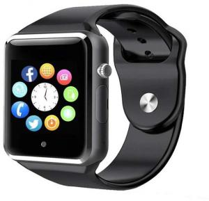 A1 Smart Watch Silicone Band For Android,Black