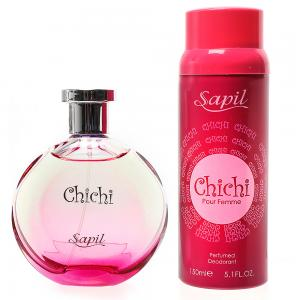 Sapil Chichi Pour Femme Edt 100 Ml+Sapil Deo 150ml Free