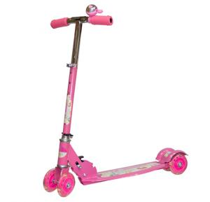 4 Wheel Kids Scooter With LED Light SC-5317-Pink