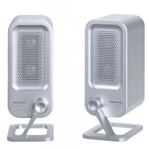 Panasonic RP-SPF01 Active Compact Speaker System, Silver