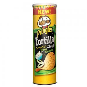 Pringles Sour Cream Fiesta flavour Tortilla Chips 160g