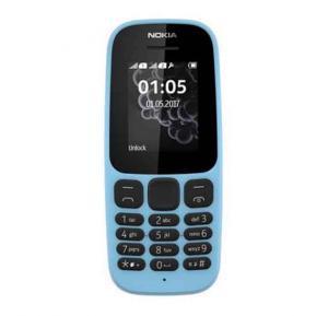 Nokia 105 Single Sim 2017 - Blue
