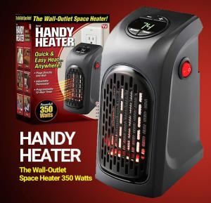 Handy Heater Wall Outlet Space Heater M12171