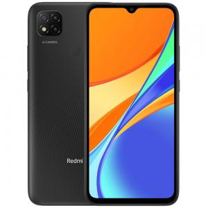 Xiaomi Redmi 9C Dual SIM 2GB RAM 32GB Storage 4G LTE, Midnight Gray