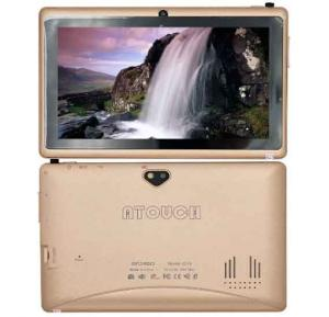 Atouch Q19, TABLET 7 inch,Android 5.1 8 GB, Wi-Fi,Quad Core,1GB DDR3, Dual Camara, Gold