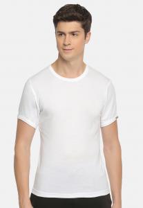 Macroman Smart Bodyline Crew Neck Undershirt MS301, White