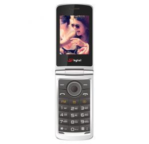KGTel K360,2.8 Inch QVGA,Dual SIM,Bluetooth,USB,FM Radio-Gray
