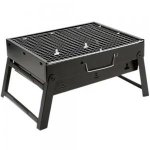 Portable BBQ Charcoal Grill Black