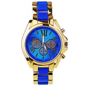 Geneva Analogue Dial Watch - Blue