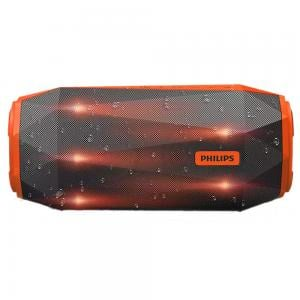 Philips SB500M/00 Bluetooth Speaker Grey and Orange