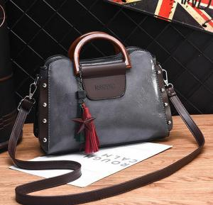 2020 New Style Joker Fashion Diagonal Crossbody Bag Grey