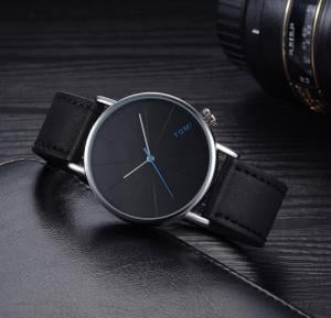 Tomi Black  Analog Watch For Unisex - T082 - 2