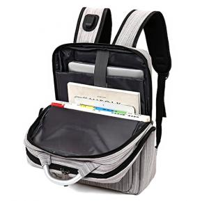 18 inch Anti-Theft Backpack with USB Port M200