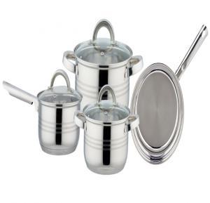 Magnum Steel 7 Pcs. Cookware Set