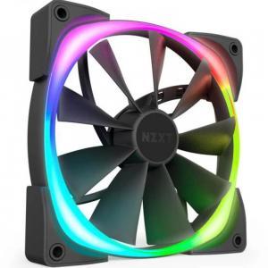 NZXT HF-28120-B1 AER RGB 2 120mm Case Fan for Hue 2 Black