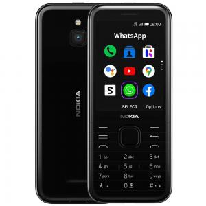 Nokia 8000 Dual SIM Black 512MB RAM 4GB 4G LTE