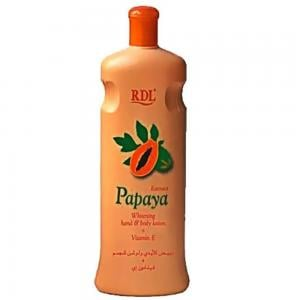 RDL Papaya Body Lotion, 600 ml