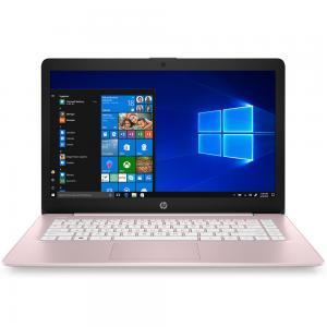 HP Stream 14 cb172wm Notebook, 14 Inch Display, Celeron N4000 Processor, 4GB RAM 64GB, Win10, Rose Pink
