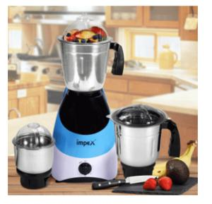 Impex BL315A 3 in1 Mixer Grinder, 550 W