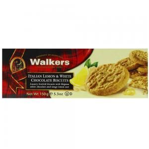 Walkers Italian Lemon & White Chocolate Biscuits-150g, 46232