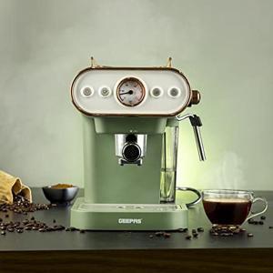 Geepas GCM41514 Espresso Coffee Machine 1.0 Liter
