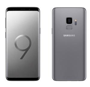 Samsung Galaxy S9 4G Smartphone, 5.8 inch Display, Android, 4 GB RAM, 64 GB Storage, Dual SIM, Dual Camera - Titanium Gray