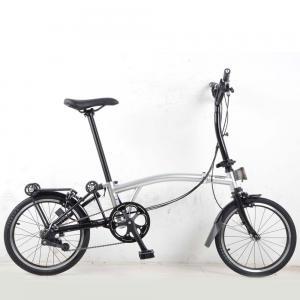 Kellys Folding Bike Camp Pikes 3 Silver Black, One Size