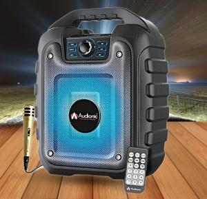 Audionic Rechargeable Portable speaker Rex12, With Bluetooth & Mic