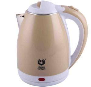 Conic Electric Kettle Double Layer 0.3mm 1.8 LIter