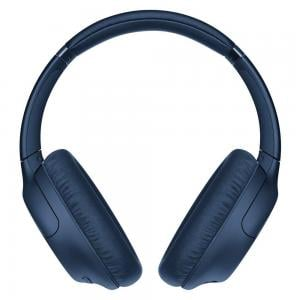 Sony Wireless Noise Canceling Headphones Over-ear Bluetooth Headset with Mic WH-CH710N, Blue