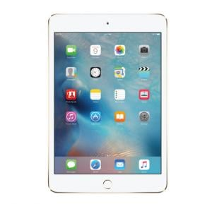 Apple iPad Mini 4,iOS 9,16 GB, 7.9 Inch LED Retina Display, 4G,-Gold
